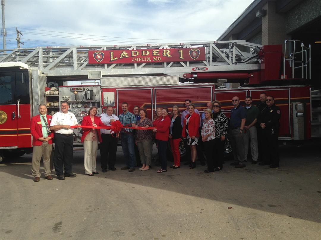Ribbon Cutting w/ Joplin Chamber of Commerce. (Photo Courtesy of MO American Water)