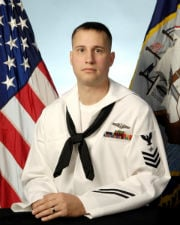 "Electronics Technician 1st Class John Tyhurst of Joplin, Mo. will serve on the nuclear-powered attack submarine ""Missouri""."