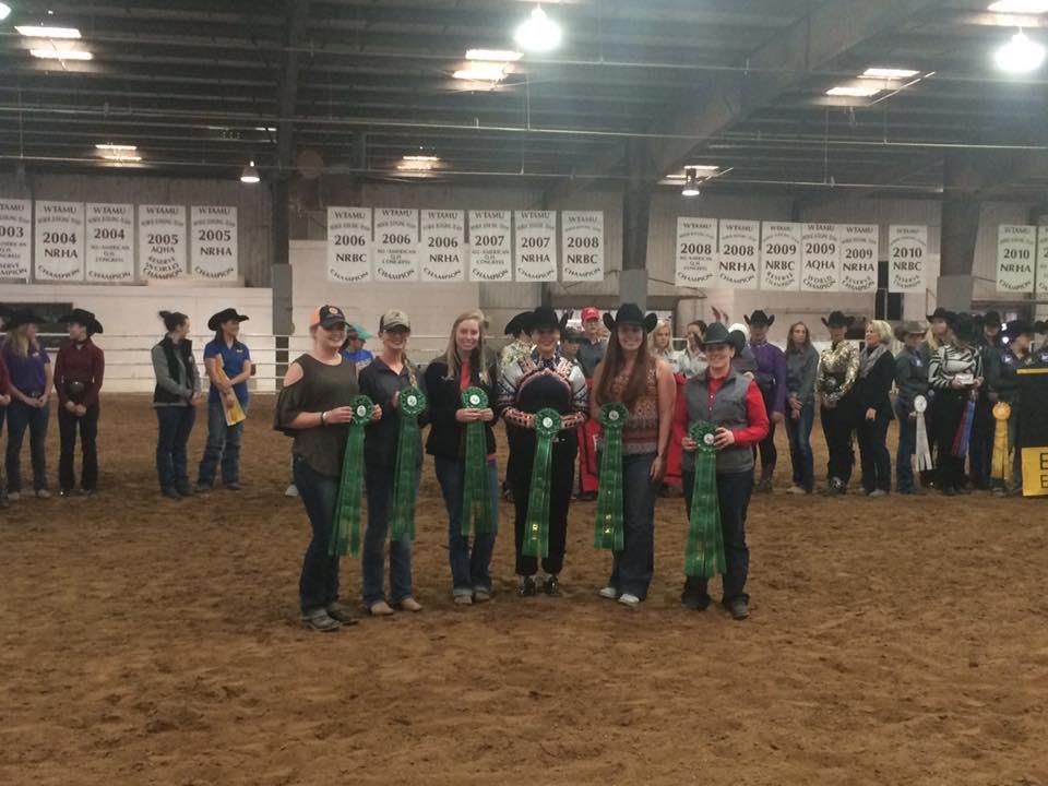 Photo from left, Alex Spratt, Sam Clayton, Myranda Alford, Brittany Abernathy, Becca Garrett, and Karli Jones