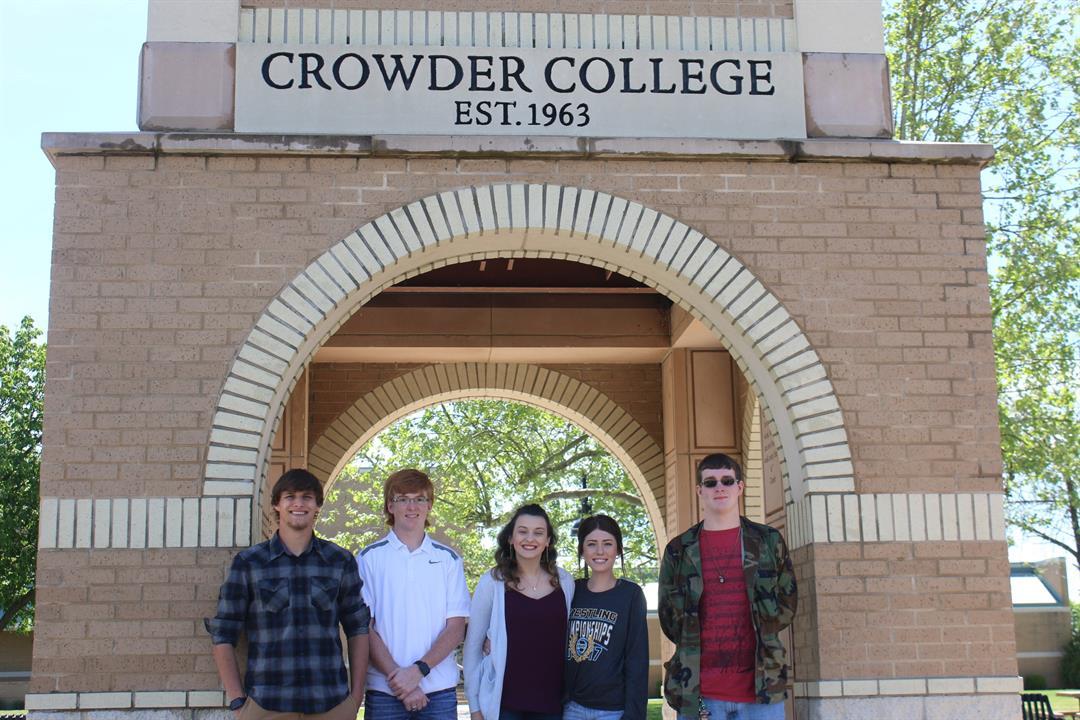 Seneca High School: Brett Austin, Chase Doty, Audra Seely, Blake Hodge, Chloe Boyer, Delaney Doty