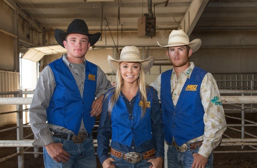 Photo from left: Ben Piazza, Amber Scales, Steven Richmond