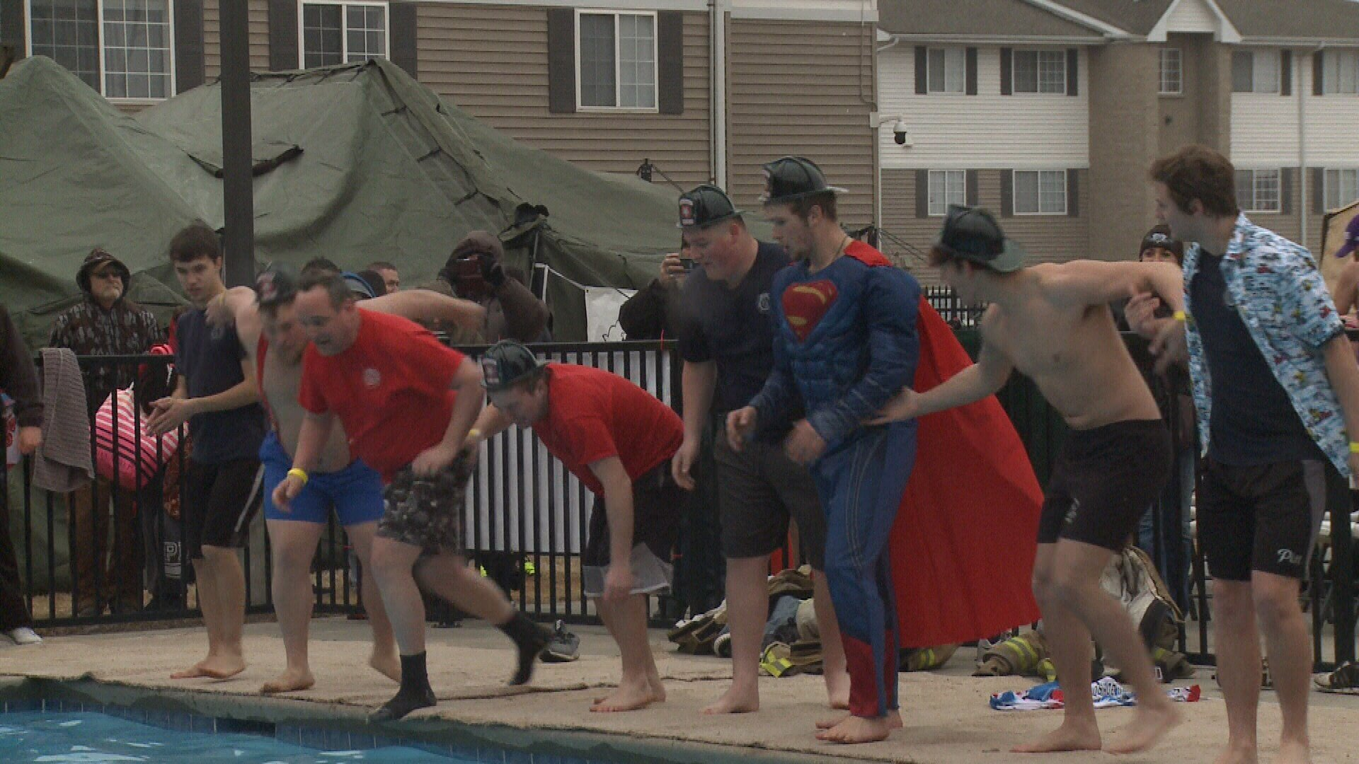 'Freeze for a reason' Annual Polar Plunge raising funds for Special Olympics