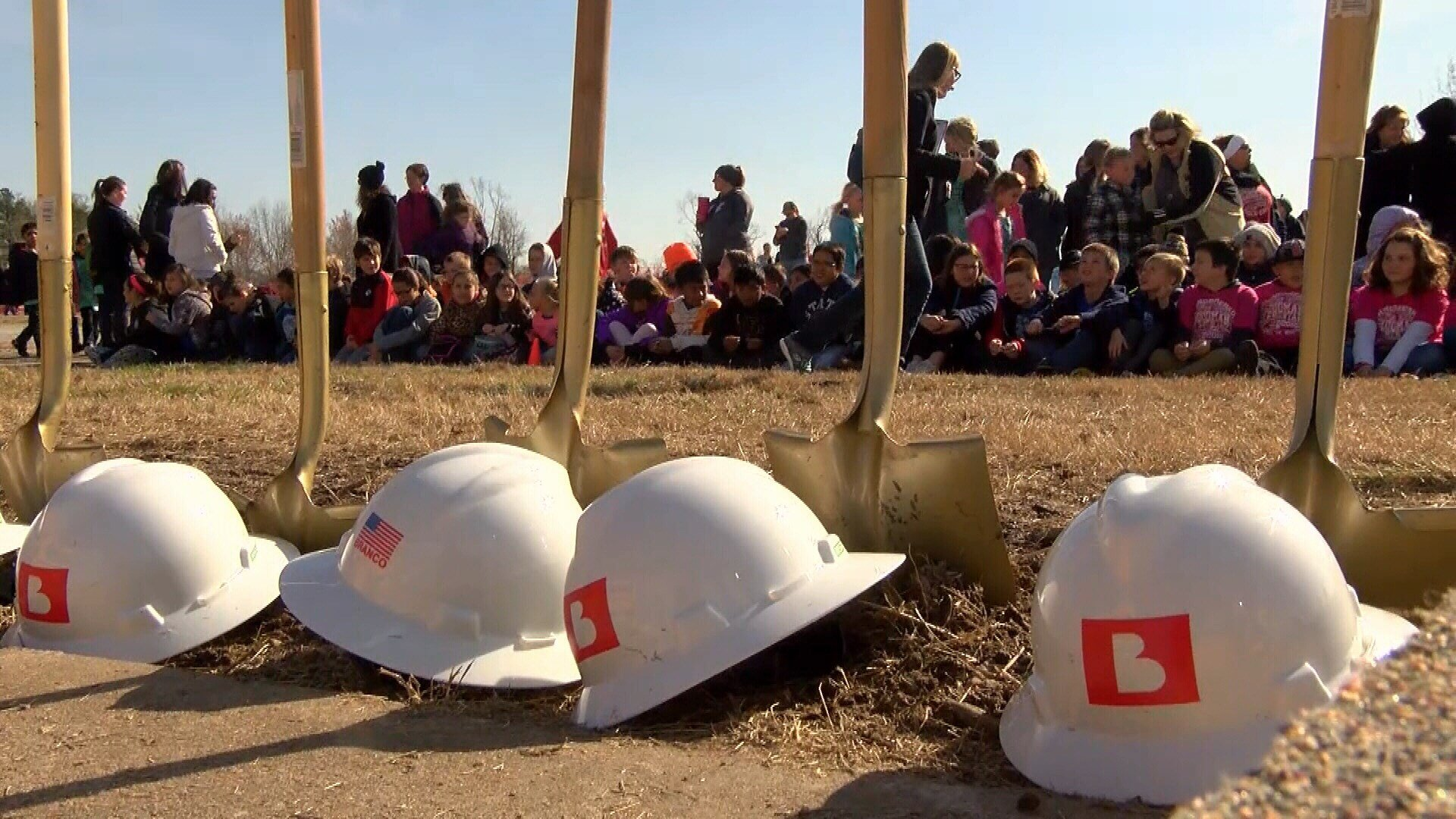 Goodman Elementary Groundbreaking