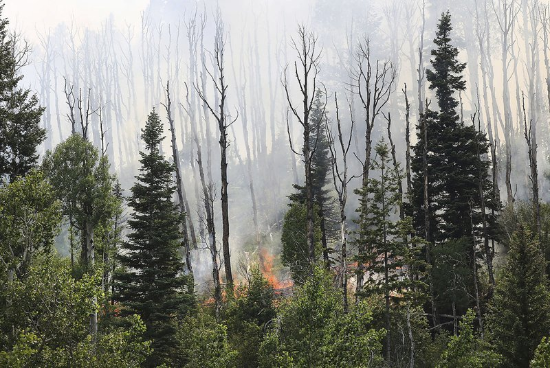 Weather makes fighting 416 Fire tough