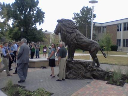 Statue unveiled August 19, 2013.