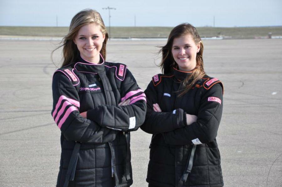 Megan and Rachel Meyer