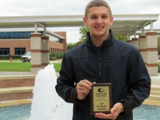 Cory Garr, sophomore at MSSU