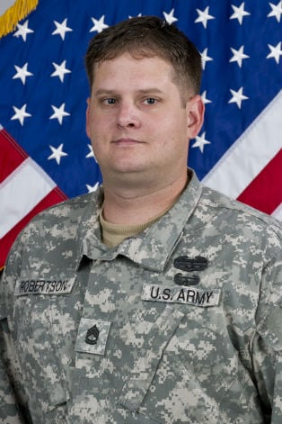 Sgt. 1st Class Forrest W. Robertson (photo courtesy of Pittsburg State University)
