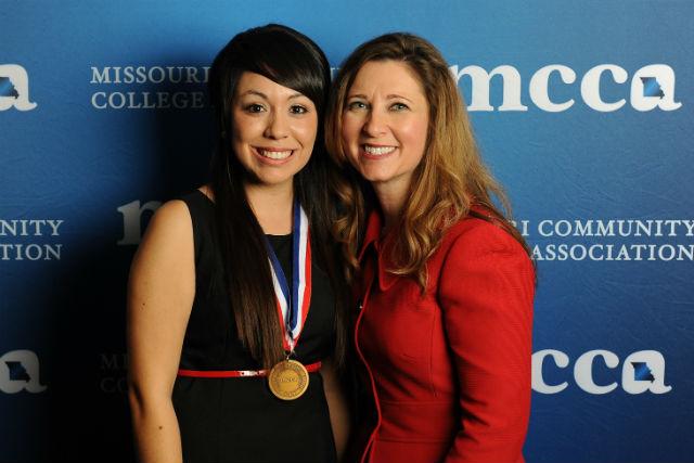 Thalia Jimenez (Springdale, AR) and Zora Mulligan, MCCA Executive Director