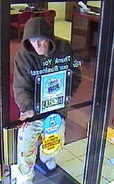 Monett bank robbery suspect