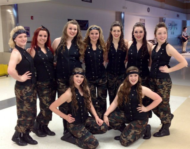 Sensations Performing Arts Encore group