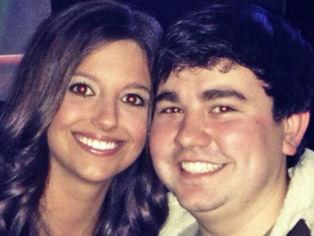 Nicole Swetnam of Grove, Oklahoma and Trey Varner of Arkansas.  Photo from Rachel Swetnam's Facebook page.