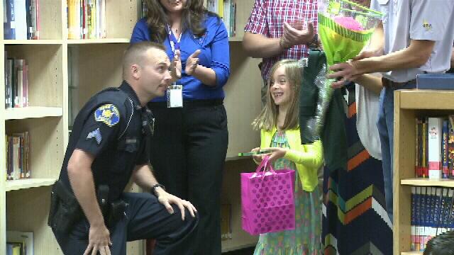 5 Year old 911 Hero
