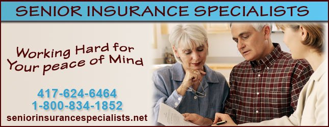 Senior Insurance Specialists - Sponsor Header
