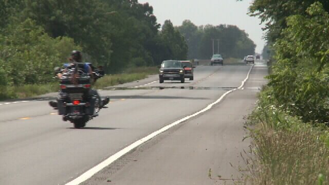 Proposed passing lanes for highway 171
