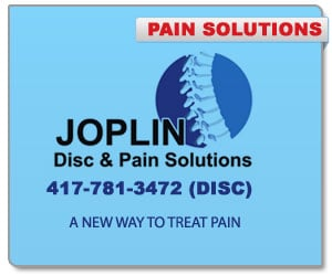 Joplin Disc and Pain - Sponsorship Header