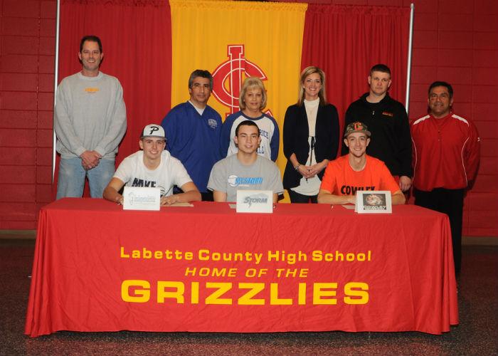 (From Left to Right):  Jake Mattox, Austin Yanez, Braden Anderson