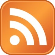 """When you see the orange """"RSS"""" icon, a feed is available for your RSS Reader."""