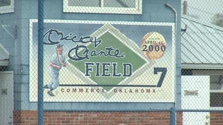 Mickey Mantle Field in Commerce, Okla.