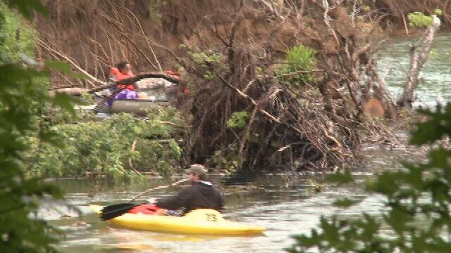 Elk River canoe obstacles