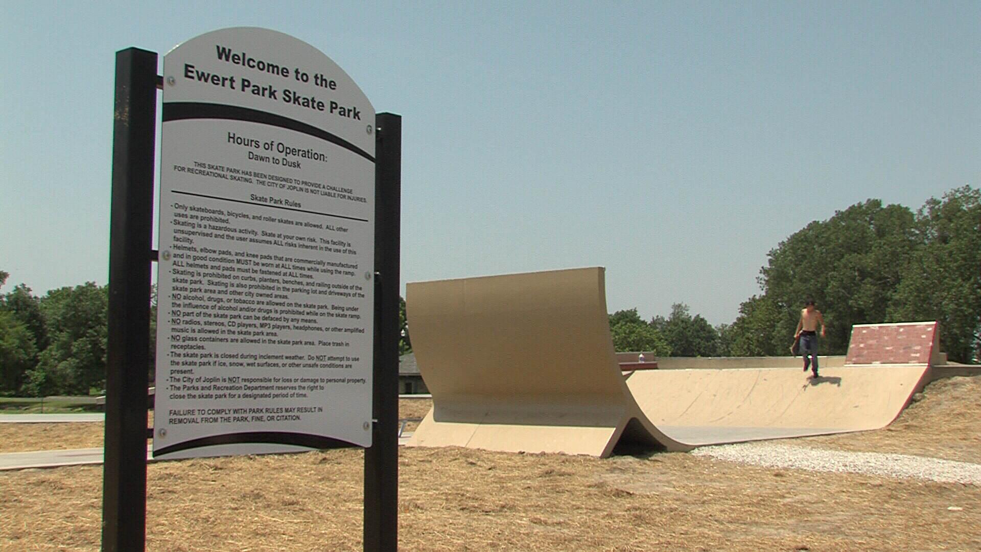 Skate park at Ewert Park