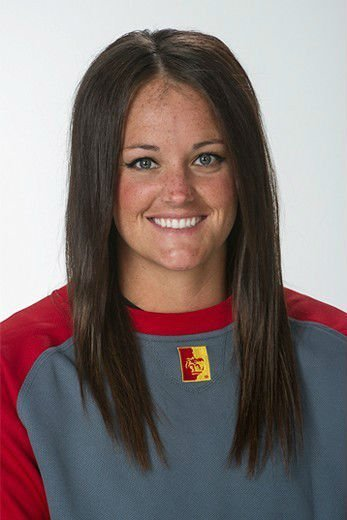 Molly Garst, played at Purdue University, Webb City High School