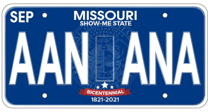 Missouri Redesigning Motor Vehicle License Plates Koam Tv 7