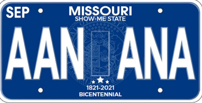 Missouri redesigning motor vehicle license plates koam tv 7 for Missouri department of motor vehicles jefferson city