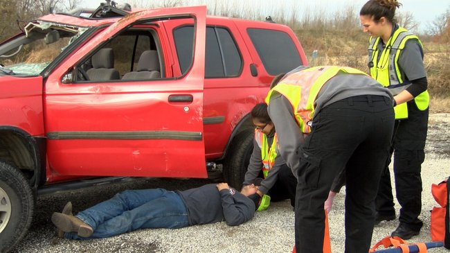 Quapaw EMT Trainees Get Hands On Experience