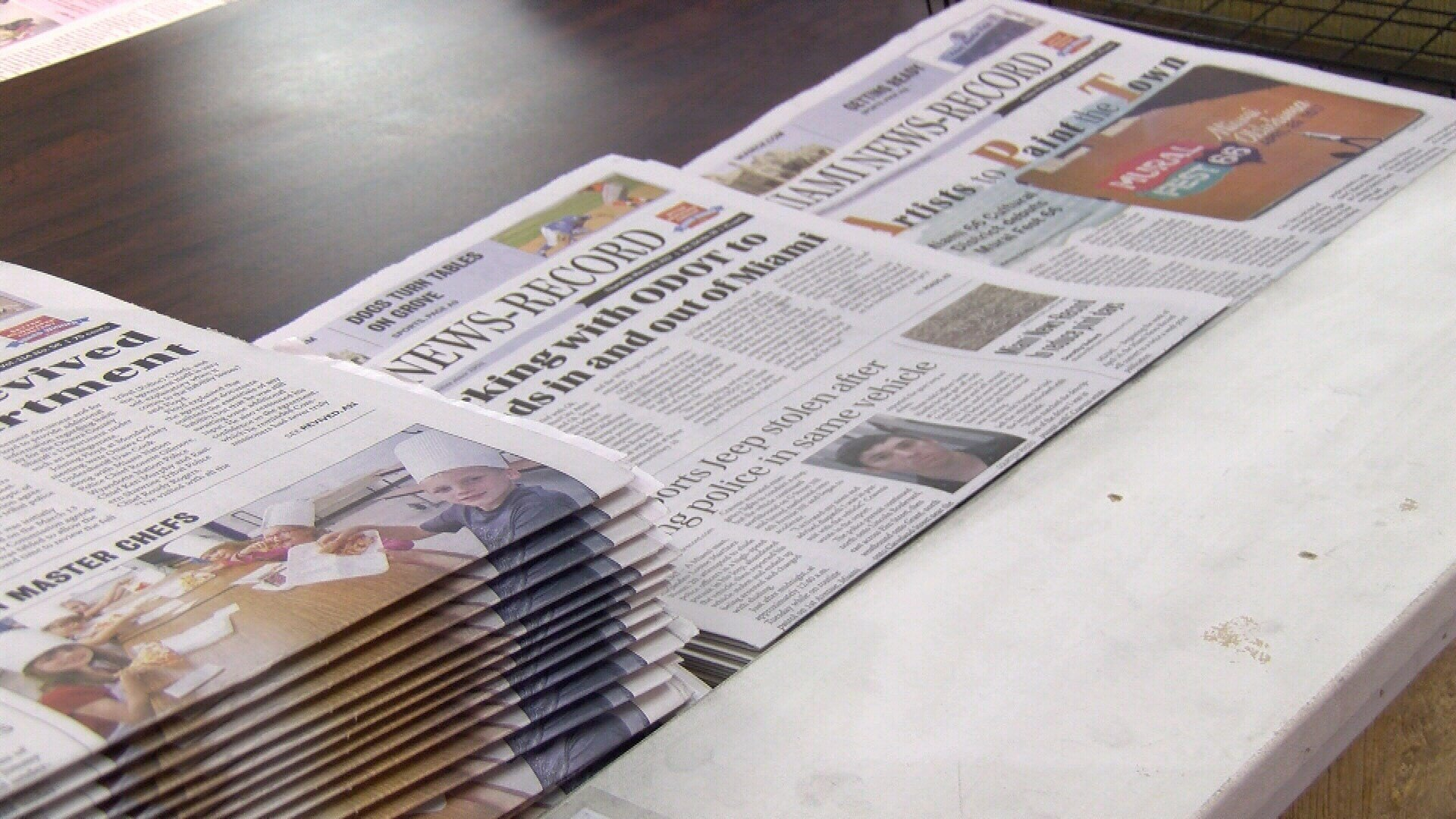 local papers
