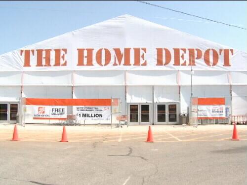 Home Depot temporary store now open in Joplin & Home Depot temporary store now open in Joplin - KOAM TV 7