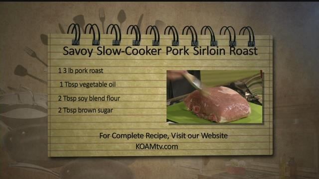 how to cook pork sirloin roast slow cooker