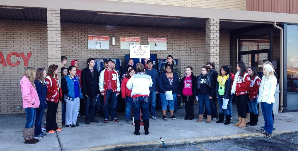 Baxter Springs Choir spreads Christmas cheer and aids the Salvat ...