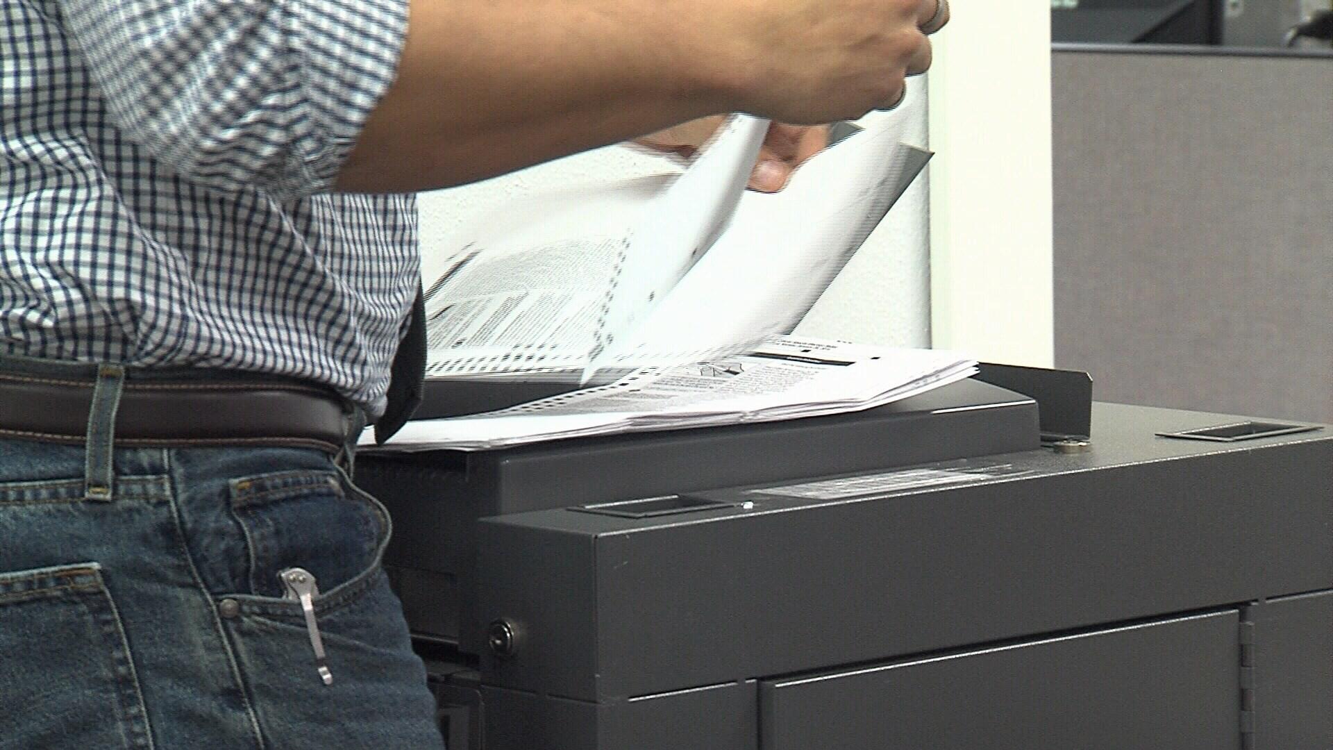 ballot machine