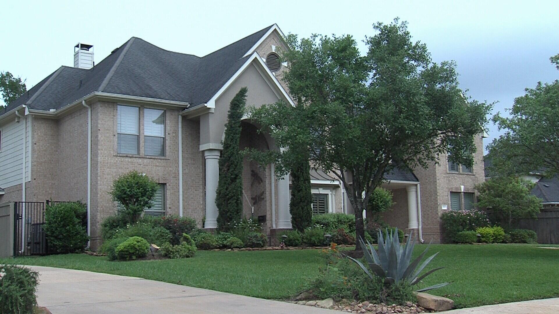 Bajjali's home in Missouri City, TX