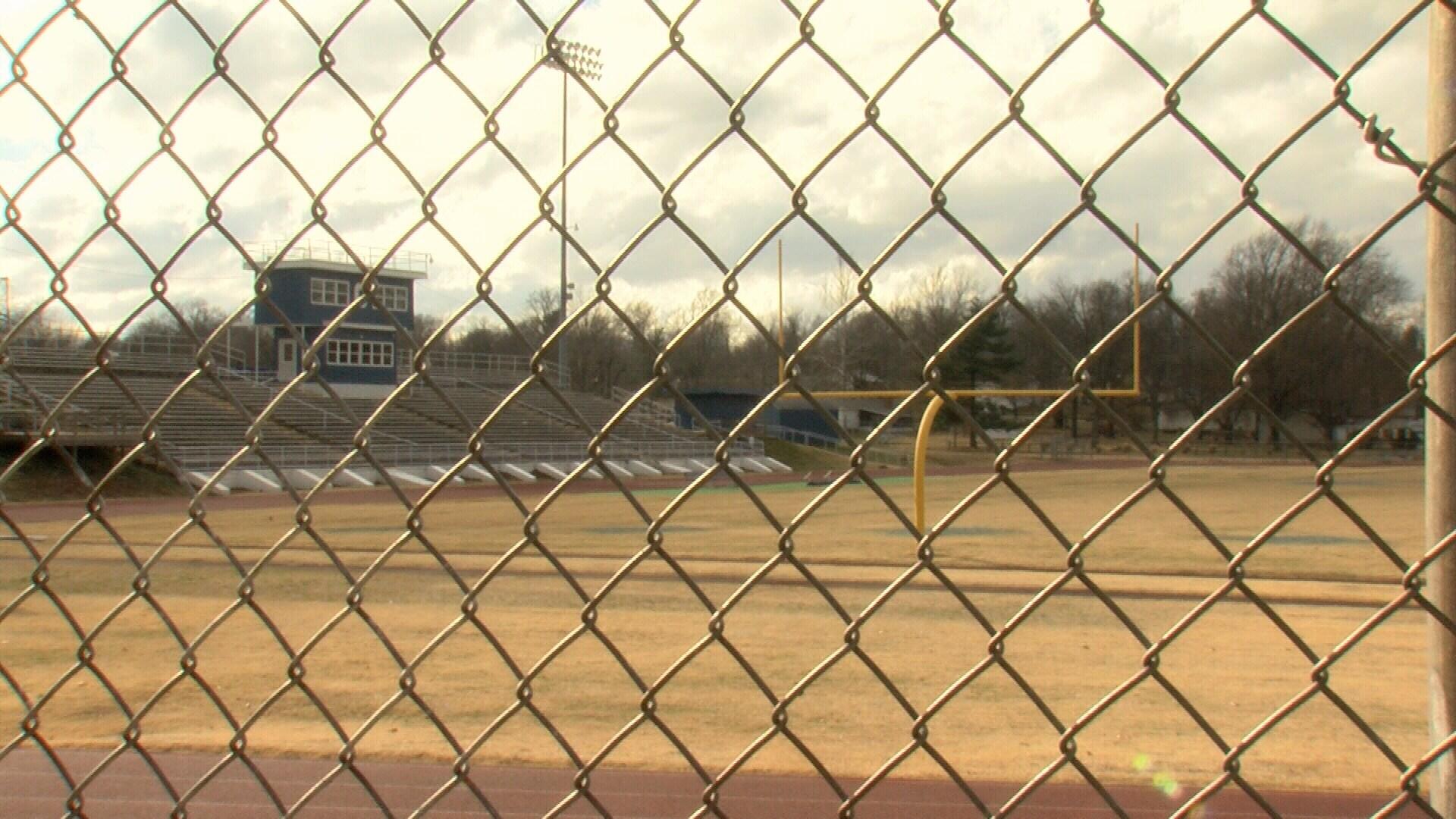 Current football field