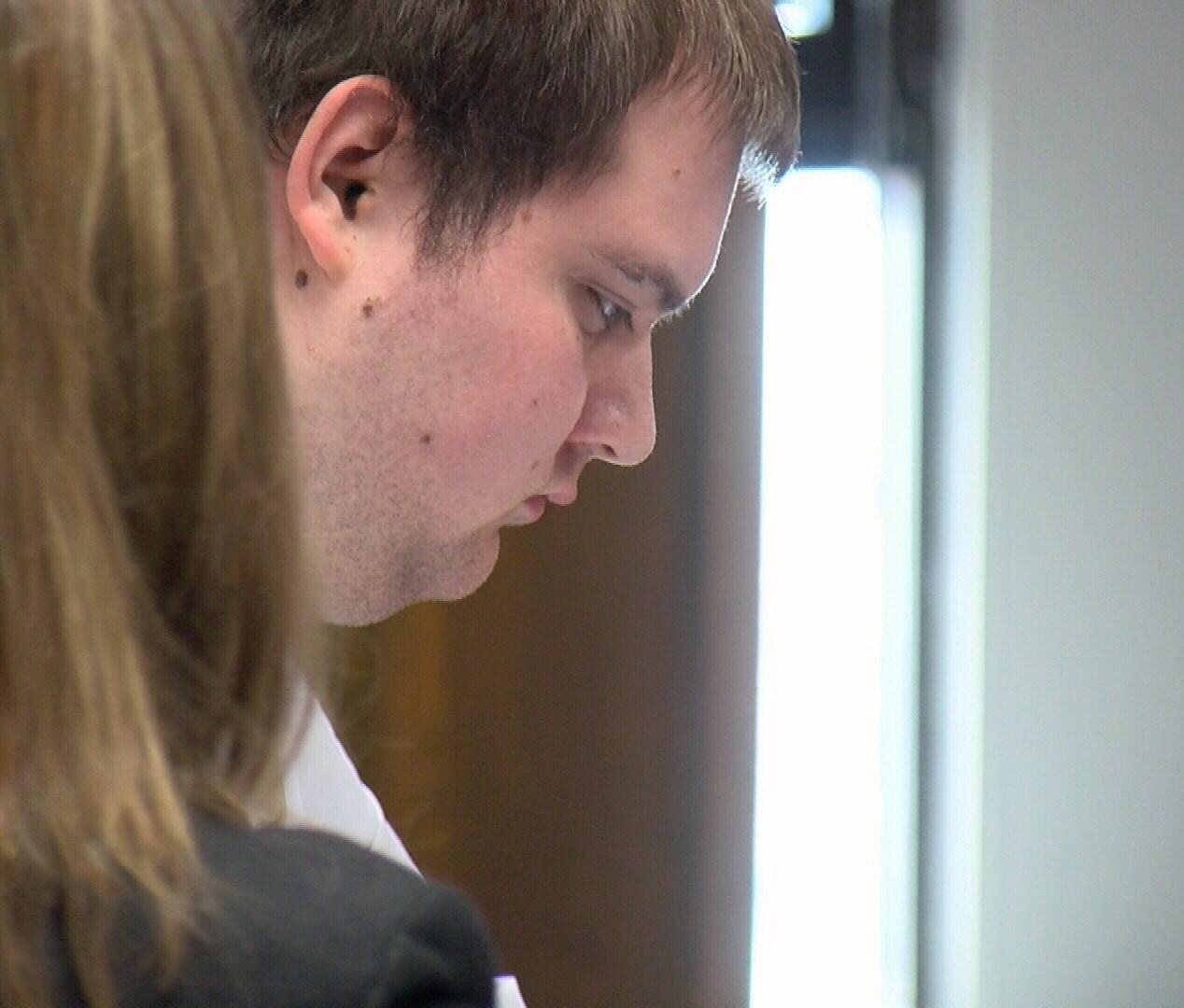 Christopher Montz in Court, August 2nd, 2018