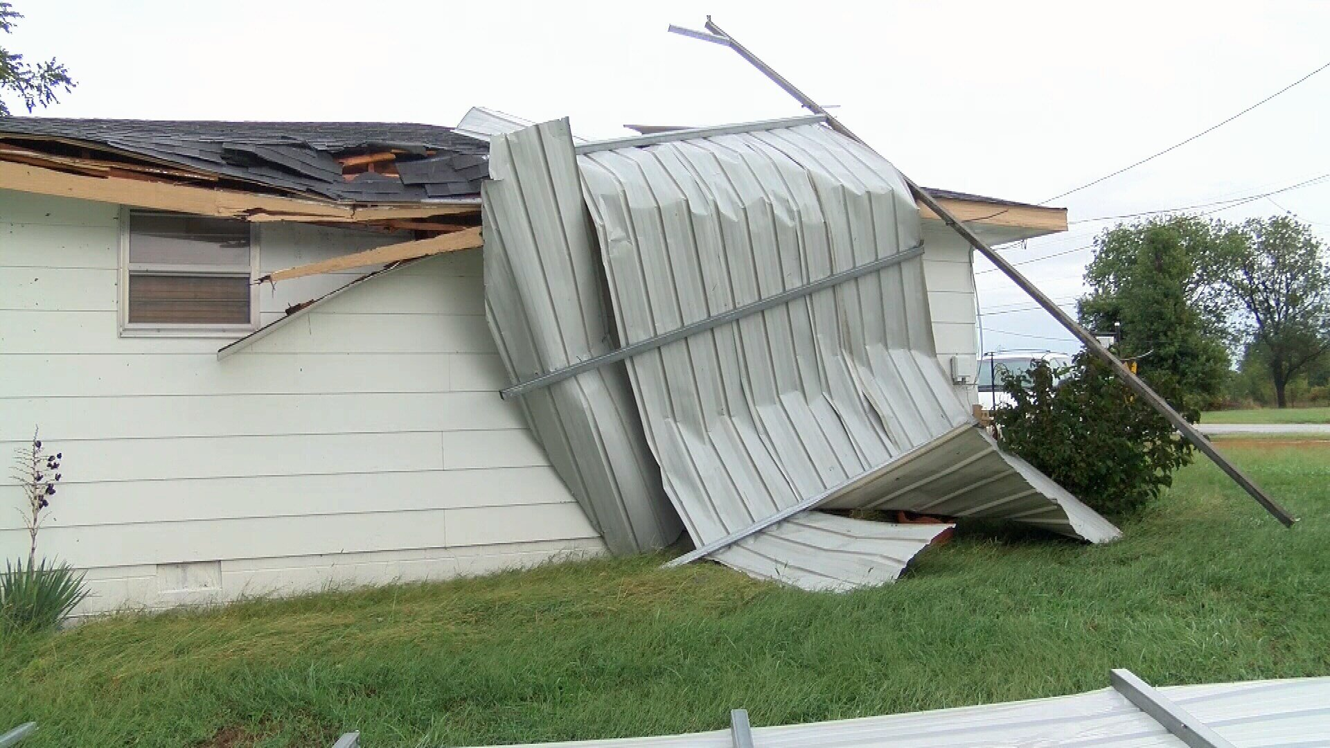 Storm damage in Joplin, MO (Oct. 9, 2018)