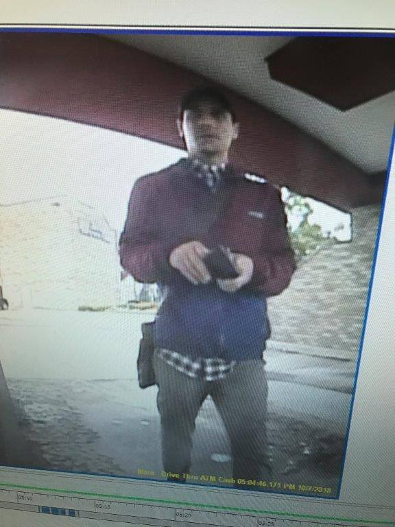 Possible suspect in northeast Oklahoma ATM skimming