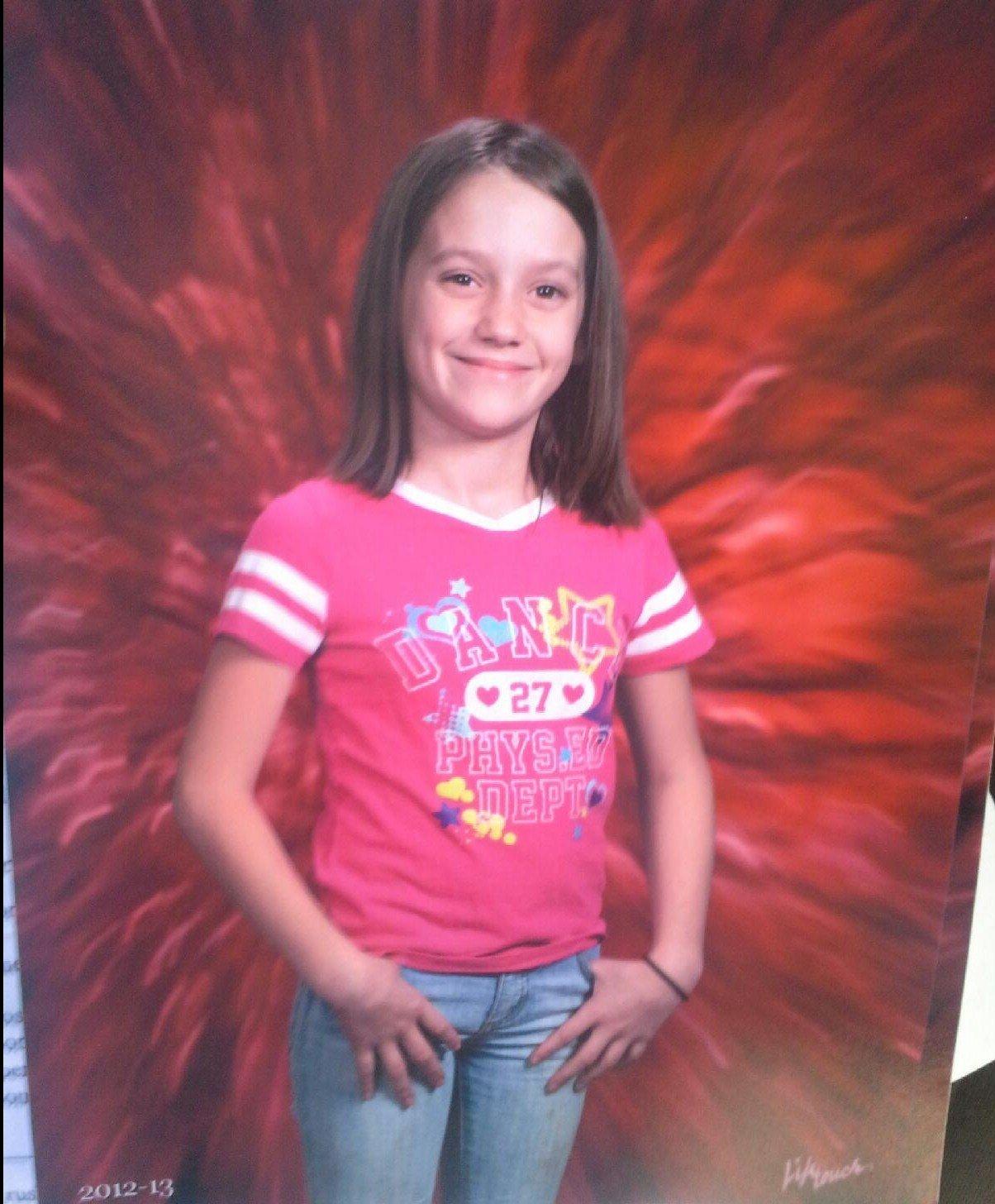 Adriaunna Horton, age 12